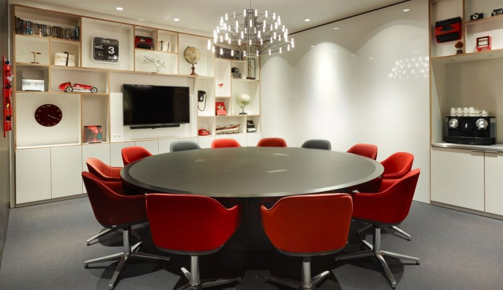 societyM meeting room 1 at citizenM Amstel Amsterdam