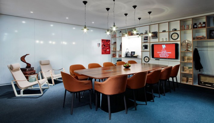 societyM meeting room 1 at citizenM London Bankside