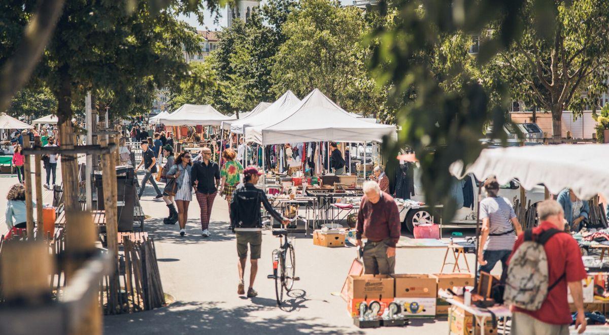 Geneva street market