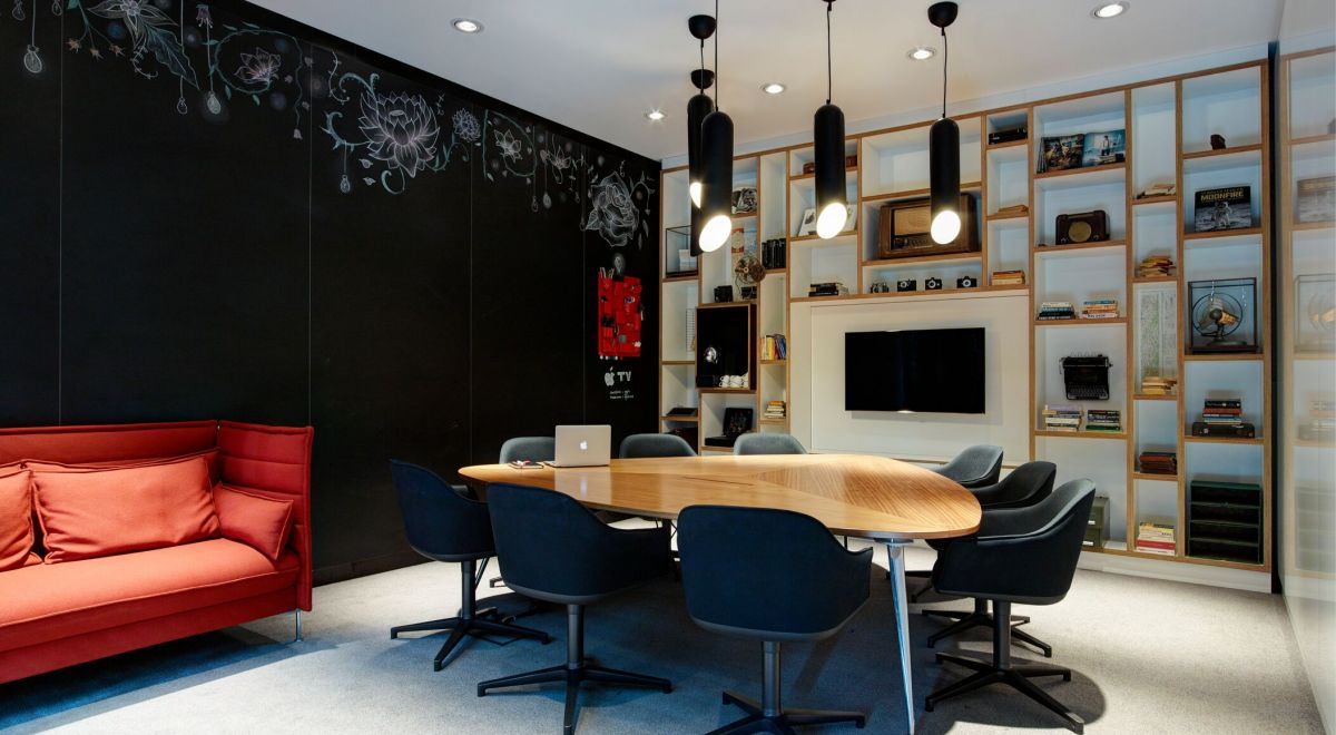 citizenM Glasgow hotel - societyM meeting rooms