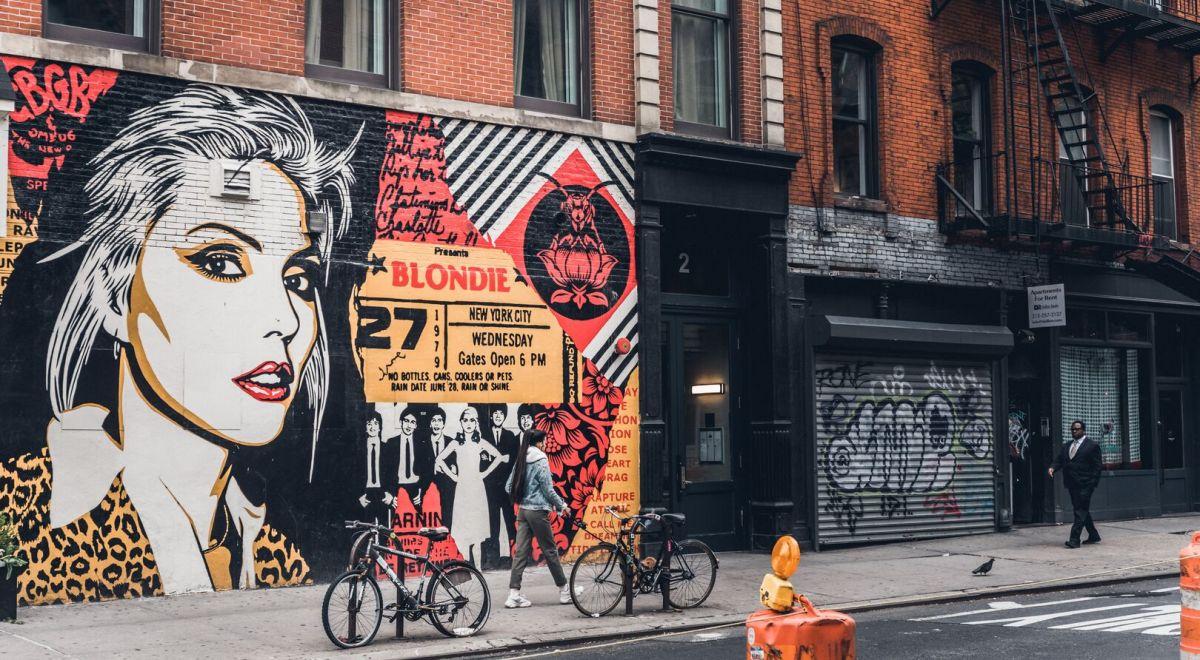 New Bowery street art