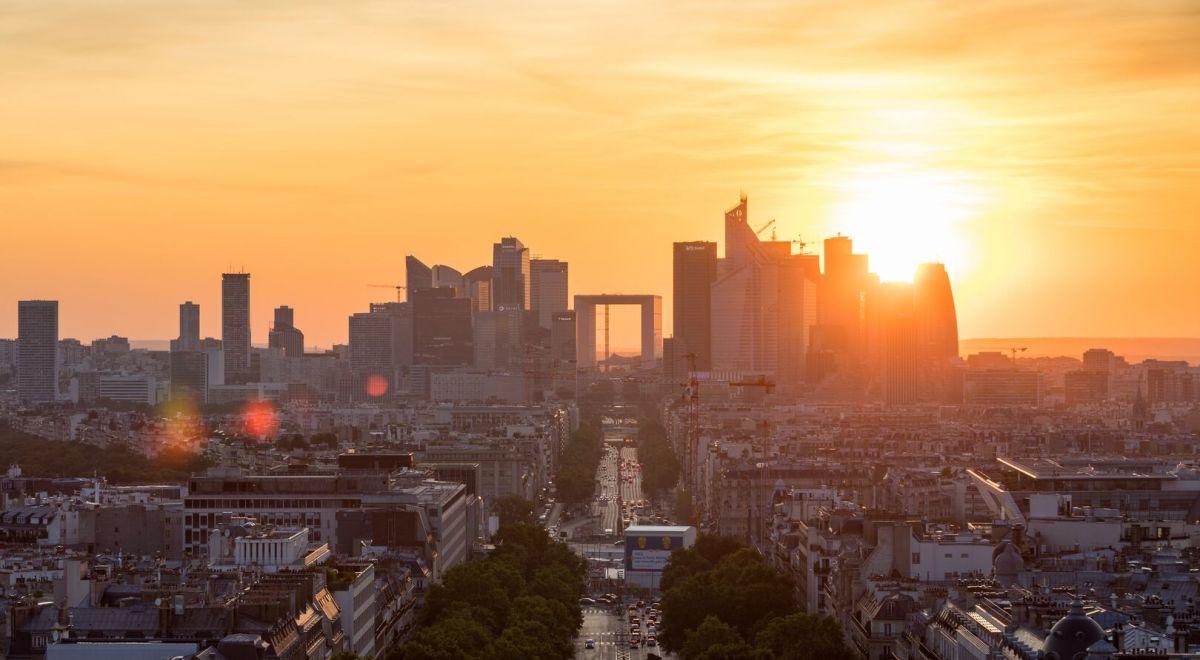 view of Paris la Défense