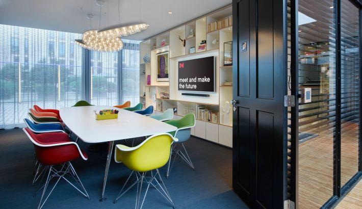 salles de réunion 1 au societyM Rotterdam