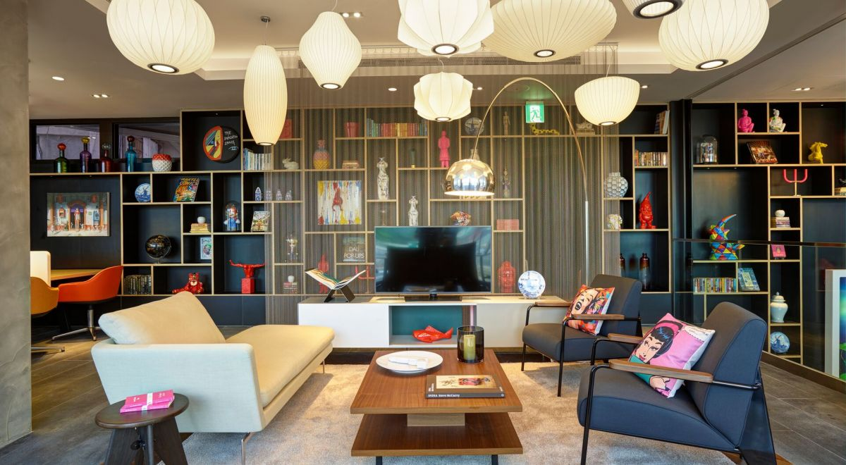 citizenM Taipei hotel - living room