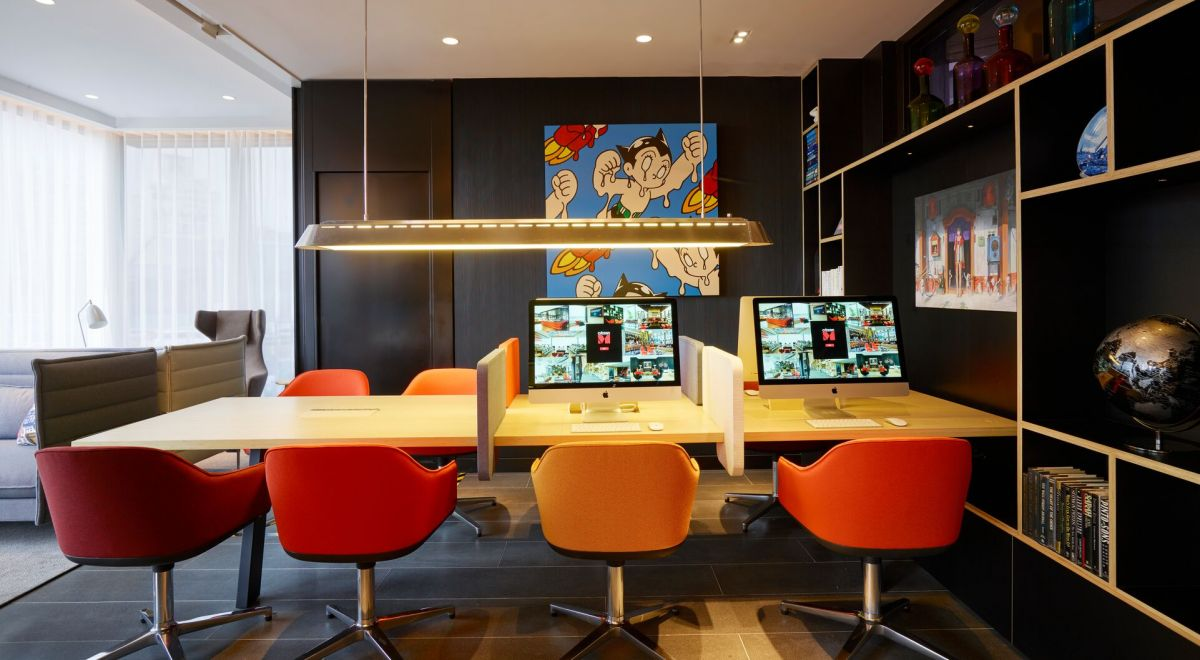 citizenM Taipei hotel - societyM meeting room