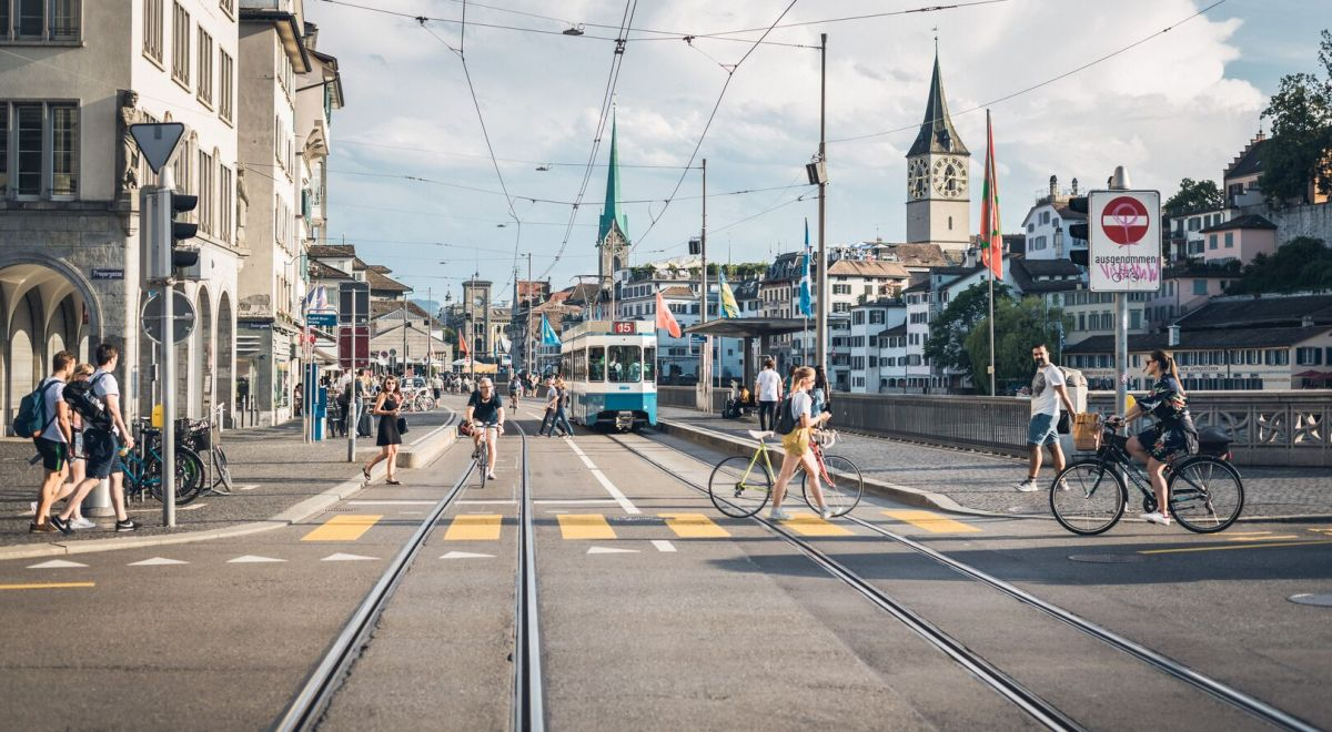 Zurich and its trams