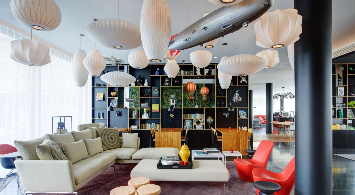 citizenM Paris Charles de Gaulle airport - living room